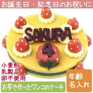 犬用ケーキ Lovina(ロビナ) たっぷりいちごのまんまるケーキ お誕生日に プレゼントに|petnext