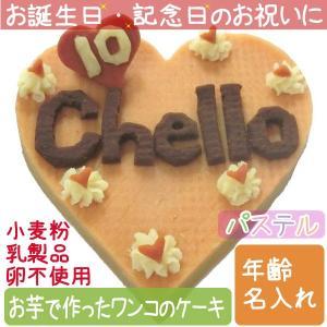 犬用ケーキ Lovina(ロビナ) ハートいっぱいケーキ  選べる2種(チョコ風/パステル) お誕生日に プレゼントに petnext