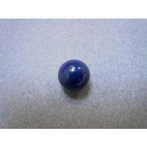 ラピスラズリ 人気の天然石 パワーストーン 10ミリ(1センチ) 穴なし 丸玉 カゴ型ペンダント入れ替え用 12月誕生石 |petora