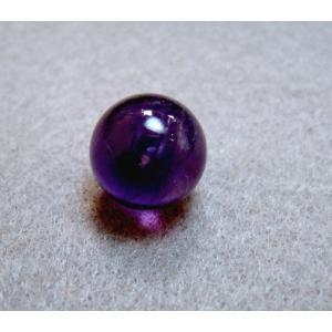 アメジスト 天然石 パワーストーン 10ミリ(1センチ) 穴なし 紫水晶 2月の誕生石 丸玉 カゴ型ペンダント入れ替え用におすすめ!!  petora