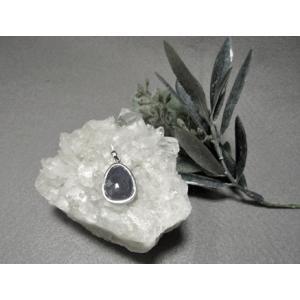 タンザナイト シルバーペンダントトップ 天然石 パワーストーン ブルーゾイサイト 宝石でも有名な女性に人気の天然石 ギフトにもおすすめ |petora