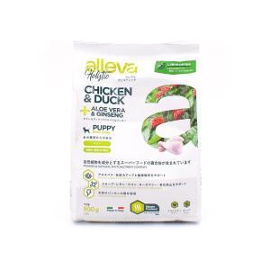 アレヴァ ホリスティック チキン&ダック+アロエベラ&ジンセン 全犬種パピー 800g|petrry