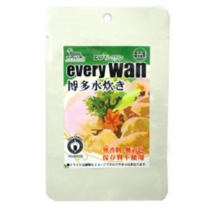 ドッグフード アニマル・ワン every wan エブリワン 博多水炊き 60g レトルト 国産 おかず トッピング petrry