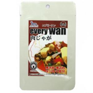 ドッグフード アニマル・ワン every wan エブリワン 肉じゃが 60g レトルト 国産 おかず トッピング|petrry