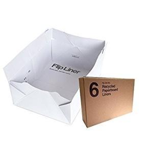 猫用トイレ モデキャット modkat フリップ リターボックス 用 ペーパーボードライナー (6枚入り) petrry