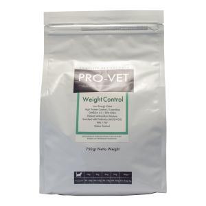 理想的体重の維持を目的とした低カロリーフード PRO-VET WEIGHT CONTROL(プロベッ...