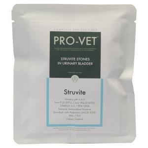 PRO-VET STRUVITEは、尿路結石を患う成猫を対象に開発されました。PRO-VET STR...