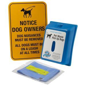 犬用トイレ袋 設置ボックス Doggie Walk Bags パプリック ミニ ディスペンサー 英字看板付き|petrry