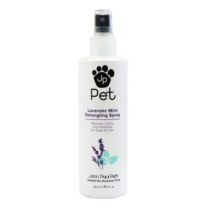 犬用 猫用 トリミング用品 John Paul Pet ジョン・ポール・ペット 毛玉・毛もつれ用 スプレー ラベンダーミント 236.6ml petrry