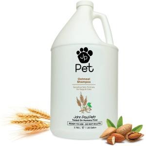 犬用 猫用 シャンプー John Paul Pet ジョン・ポール・ペット オートミールシャンプー ガロンサイズ 3.78L 保湿 敏感肌 乾燥肌 petrry