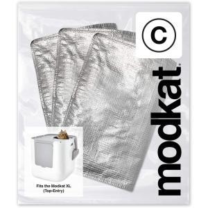 猫用トイレ modkat モデキャット XL リターボックス 用 TP リューザブルライナー (3枚入り) petrry