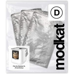 猫用トイレ modkat モデキャット XL リターボックス 用 FR リューザブルライナー (3枚入り) petrry