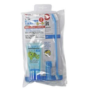 ペットキン Petkin 犬・猫用 歯ブラシ 2種類& 歯磨き粉 3点セット petrry
