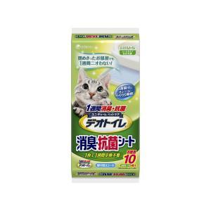 デオトイレ消臭・抗菌シ−ト10枚