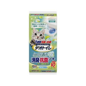 デオトイレ香る消臭・抗菌シ−トガ−デン10枚