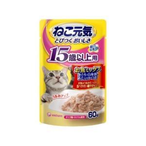 12袋セット ねこ元気 総合栄養食パウチ 15...の関連商品3