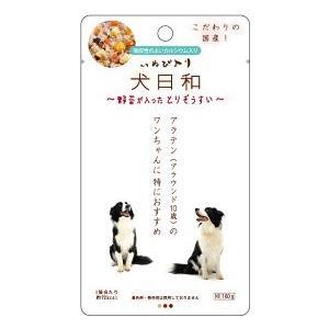 犬日和レトルト 野菜が入ったとりぞうすい 60g|petslove