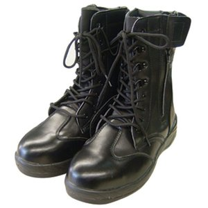 HZ−703ZIPLOA長編ブーツ ブラック 26.5cm petslove