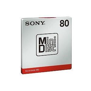 SONY (ソニー)  オーディオ用MD ミニディスク MDW80T(1枚入)