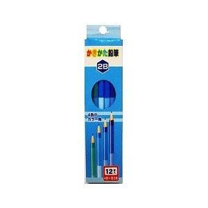 4色軸のかきかた鉛筆 2B petslove
