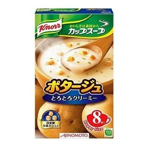 味の素 クノール カップスープポタージュ 1箱(8袋)|petslove