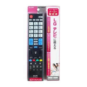 ELPA テレビリモコンLG RC−TV009LG