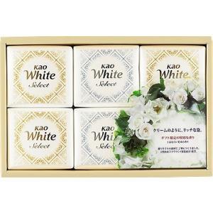 花王ホワイトセレクト 上品な白い花束の香り 85g×6コ K・WS-10|petslove