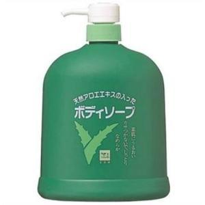 牛乳石鹸 カウブランド アロエボディソープ ポンプ 1200ml 美容 コスメ|petslove