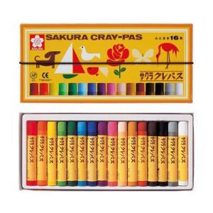 サクラクレパス クレパス太巻 16色 LP16Rの商品画像