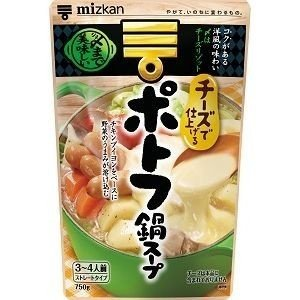 ミツカン 〆まで美味しい鍋スープ チーズでポトフ鍋スープ 750g