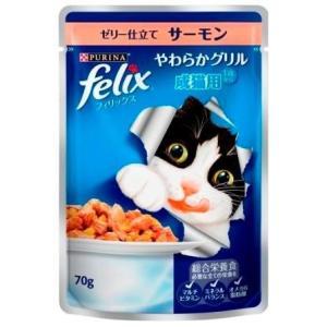フィリックスパウチ成猫サーモン70gの商品画像