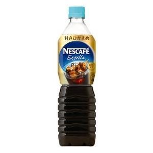 ネスレ ネスカフェ エクセラ ボトルコーヒー 甘さひかえめ 900ml ペットボトル