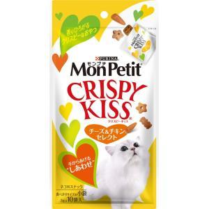 モンプチ クリスピーキッスチーズ&チキンセレク...の関連商品8