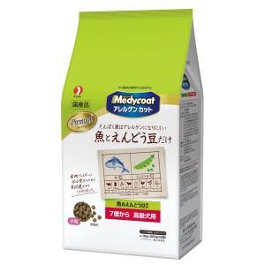 メディコート<アレルゲンカット>魚&えんどう豆蛋白 7歳から 高齢犬用 3kg(500g×6)|petslove