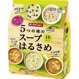 おいしさいろいろ 5つの味のスープはるさめ ( 10食入 )|petslove