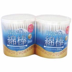 抗菌綿棒 200本×2個パックの商品画像 ナビ