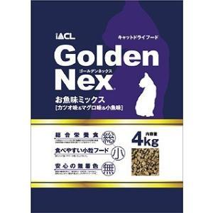 Golden Nex キャットドライ お魚味ミックス 4kg|petslove