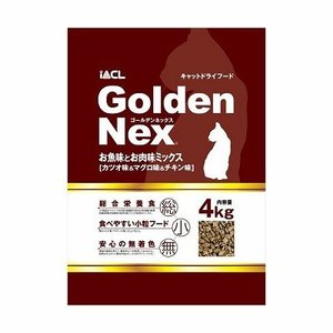 GNキャットドライ お魚・お肉4kg|petslove