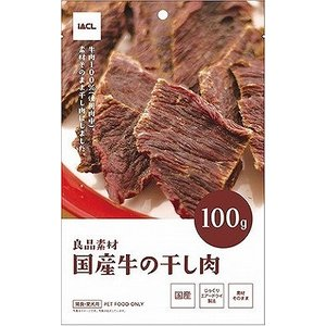 イトウアンドカンパニー 良品素材 国産牛の干し肉 100g|petslove