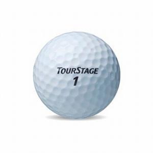 ブリヂストン(BRIDGESTONE)TOURSTAGE EXTRA DISTANCE ホワイト(3球入り) petslove