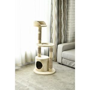 猫タワー 大人気 キャットタワー  タイプ  YS68285N  ペッツラブ 当店オリジナル インテリア 組み立て簡単|petslove