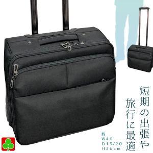 ビジネスキャリー R4331−5170 ブラック 軽量型 ナイロン 約1〜2泊用 短期旅行 コンパクト トラベル キャリーケース|petslove