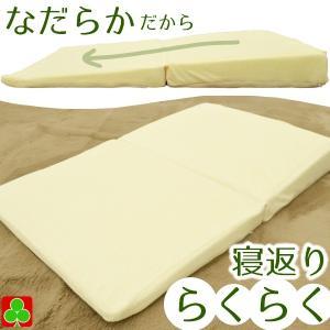 らくらく枕 安眠 安心 枕 2つ折り 寝返り枕 リラックス枕 なだらか枕 約55×90cm ウレタンフォーム|petslove