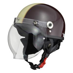 脱着式イヤーカバーや便利なラチェット式バックルを装備。 また、カラーが豊富な専用オプションバブルシー...