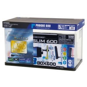 【お買い得な水槽セット】プログレ600 5点 LED petslove
