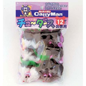 キャティーマン じゃれ猫 チューダース|petslove