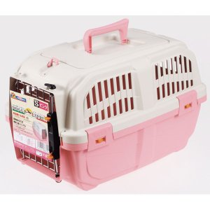 ドギーマン イタリア製ハードキャリー DOGGY EXPRESS S ピンク|petslove