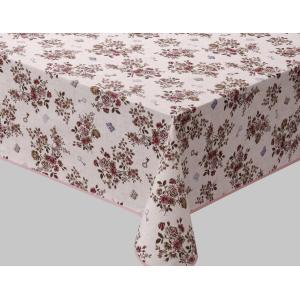既製テーブルクロス サイズ120cm×150cm 4人掛けテーブル用 柄名ジェノバ petslove