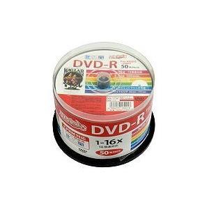 HIDISC   CPRM対応 録画用DVD-R 16倍速対応 50枚 ワイド印刷対応 HDDR12...