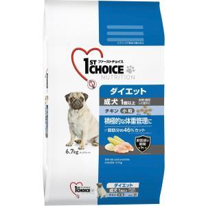 ファーストチョイス 成犬ダイエット小粒1歳以上 チキン6.7kg|ペッツ ラブ PayPayモール店